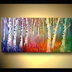فروش تابلو نقاشی رنگ روغن چهار فصل