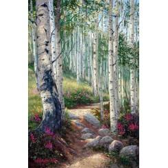 فروش تابلو نقاشی رنگ روغن طبیعت 2
