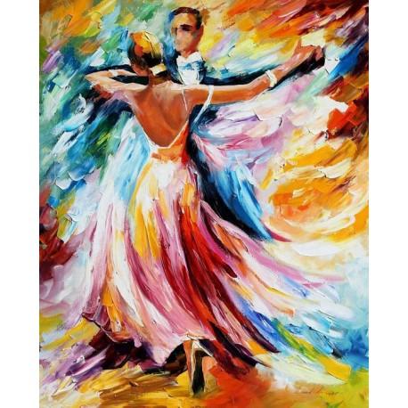 فروش تابلو نقاشی رنگ روغن رقص عاشقانه