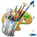 ابزار نقاشی و رنگ آمیزی